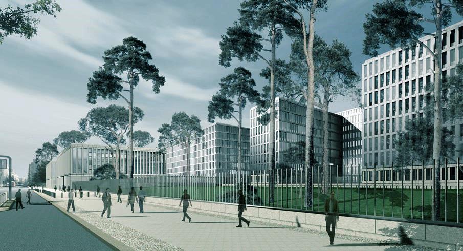 Referenzen BEUERMANN+PARTNER | Neubau der Hauptzentrale des Bundesnachrichtendienstes in Berlin